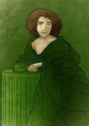Sarah Bernhardt by ravensbrugger