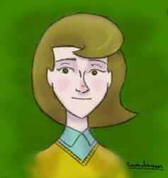 Random girl sketch # 1 by ravensbrugger
