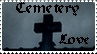 cemetery stamp by Gothicmama