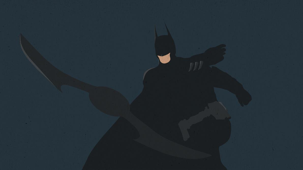 Batman Minimalist 2 Wallpaper By P1tchB1ack On DeviantArt