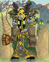 Rosoo Poses in Thunderbluff by pyra