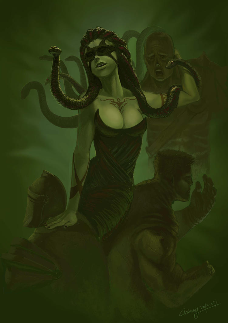 Gorgon by WandererLink