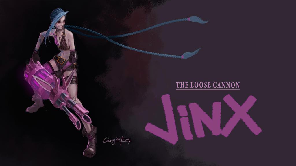 jinx the loose cannon wallpaper wwwimgkidcom the