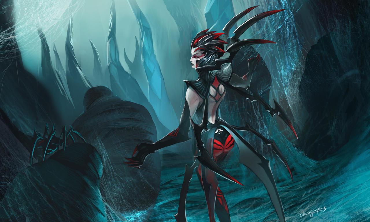 Elise, the spider queen by WandererLink on DeviantArt