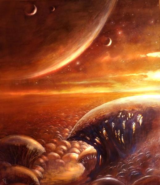 Distant worlds by Den3221