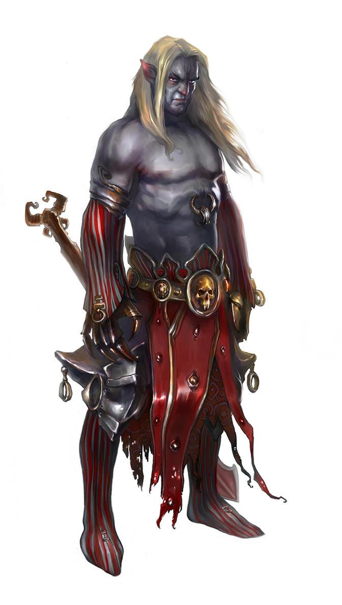 Vampire warrior by Den...