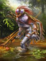 Alien hunter by Den3221