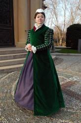 Elizabethan Dress by Schlangenschatten