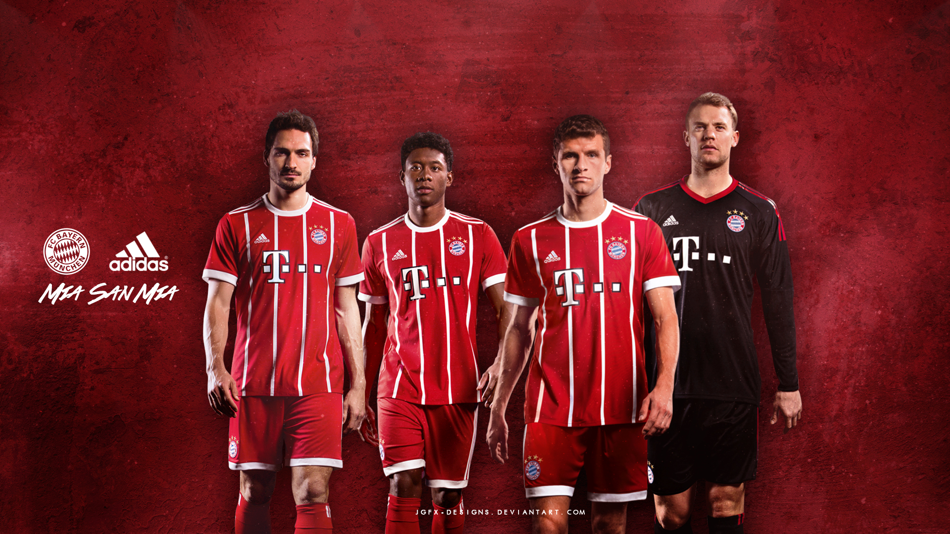 Bayern Munchen 2017-2018 adidas ad by jgfx-designs on ...