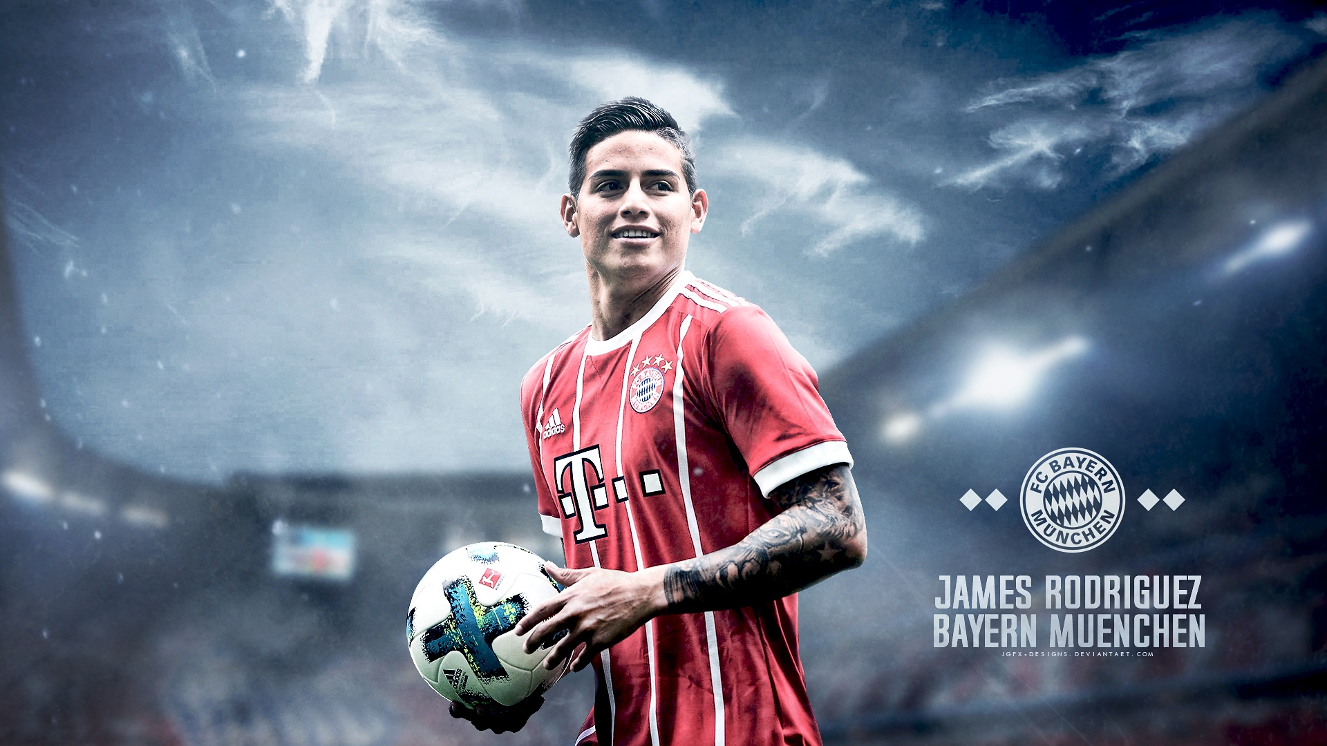Gallery Designs Welcome To Bayern James Rodriguez By Jgfx Designs On