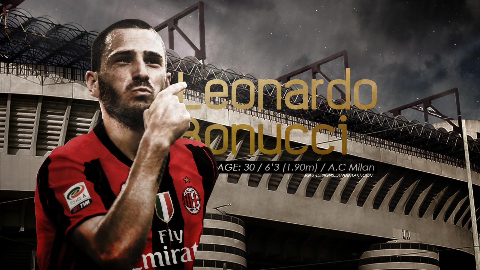 Leonardo Bonucci AC Milan by jgfx designs on DeviantArt