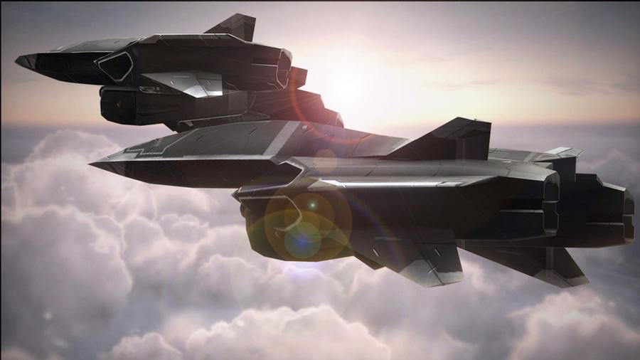 Halo 3 ODST UCAV by DarkProxy
