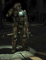 Lance Corporal Kojo Agu. Romeo by DarkProxy