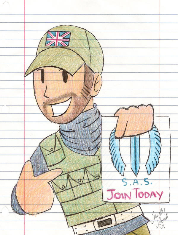 COD: Join the S.A.S. by chocolatetater-tot