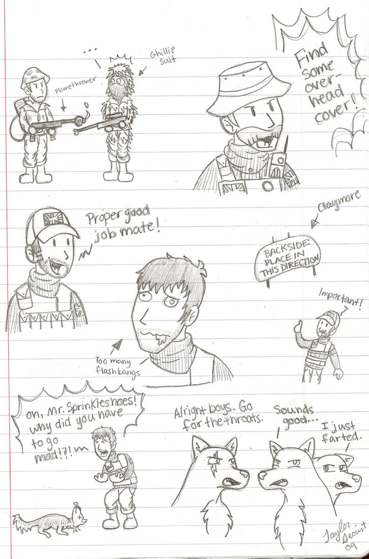 COD: Doodles by chocolatetater-tot