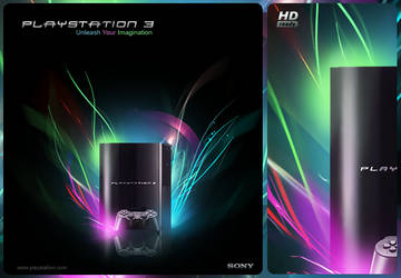 Playstation 3 Concept by hynfaeries0