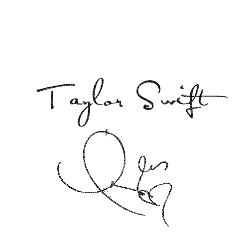 Taylor Swift Autograph Png By Angelaswifty On Deviantart