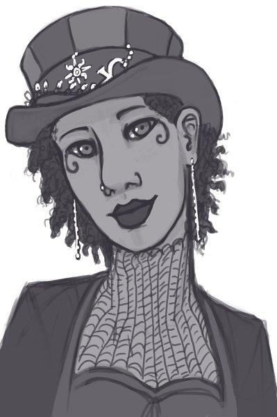 Gretchen Stills Sketch by DimeSpin