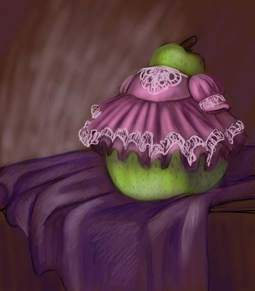 Frilly Pear by DimeSpin