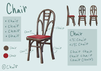Chair by DimeSpin