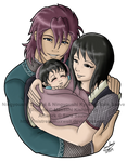 Happy Little Family - TegaShizu by mistressmaxwell