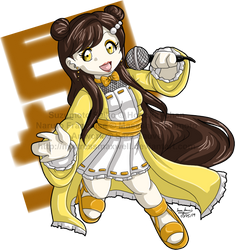 Commission For Honoka--chan - Chibi Seiko by mistressmaxwell