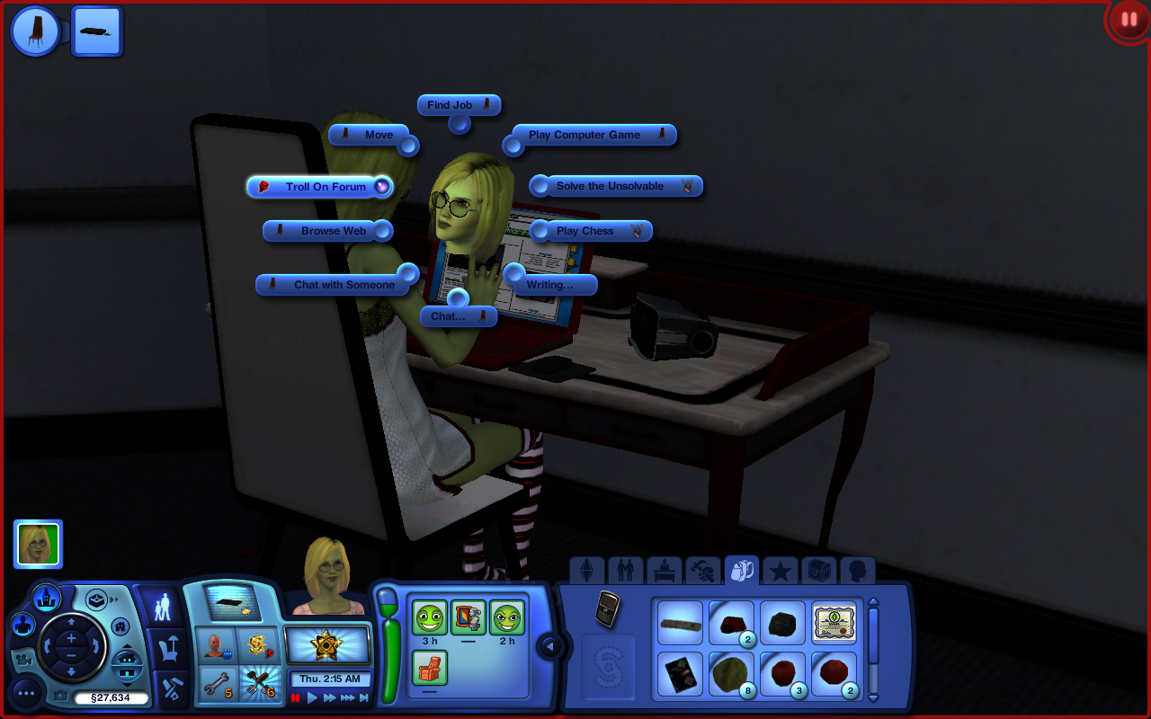 The Sims 3 Forum Troll By Spookty On Deviantart