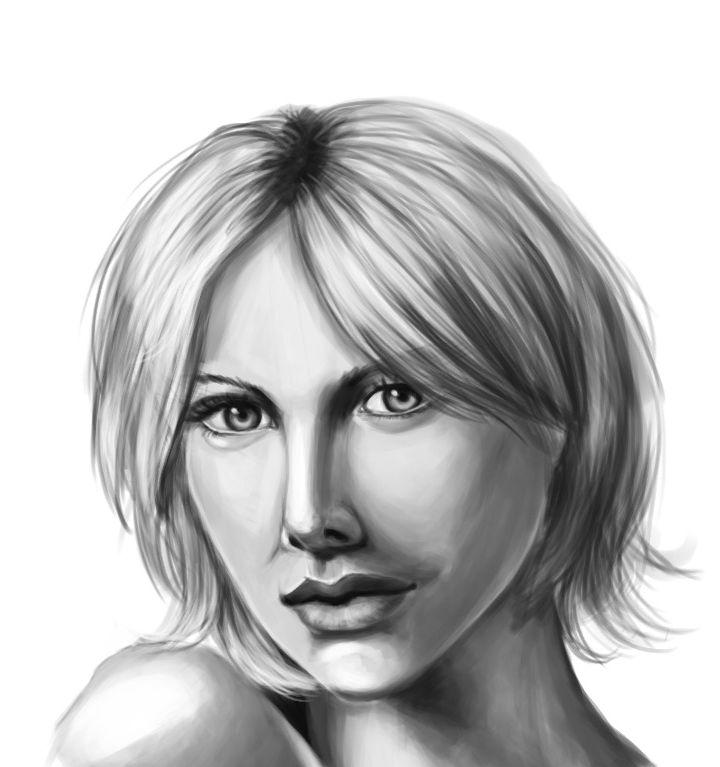 Portrait Practice by AliceKeat