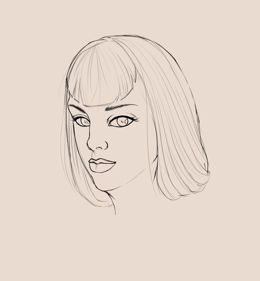 Portrait Practice.x3 by AliceKeat