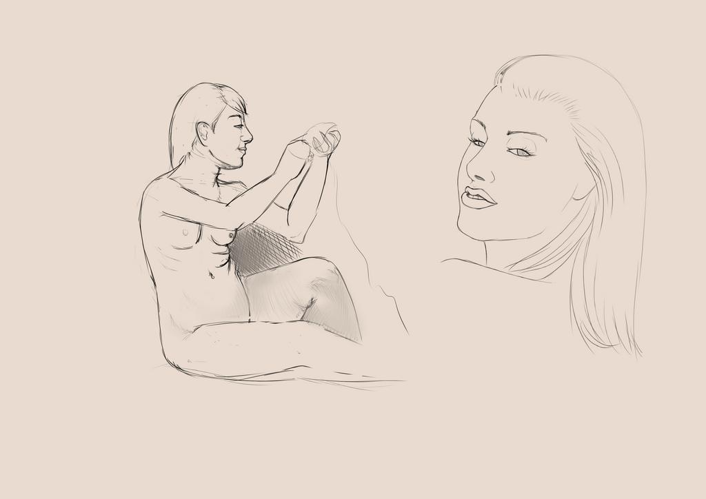 Portrait Practice x5 by AliceKeat