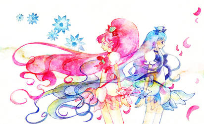 Precure: when flower scatters