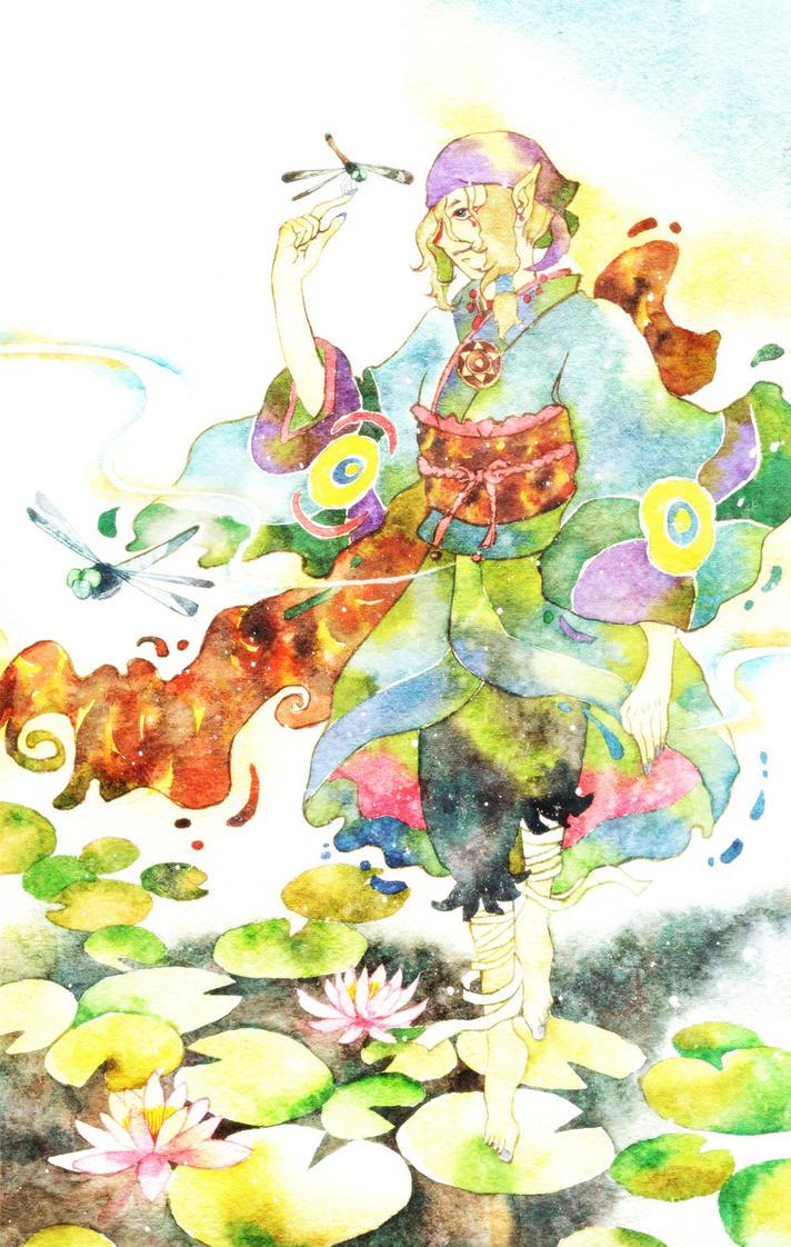 Mononoke: Water lily by muttiy
