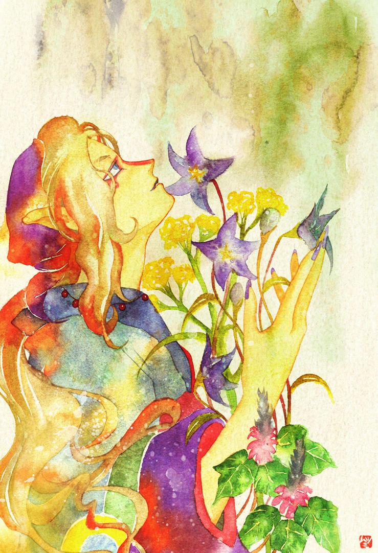 Mononoke: Autumn by muttiy