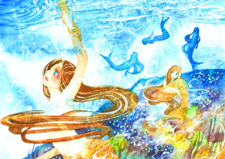 Mermaid help by muttiy
