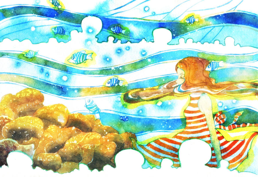 Floating Sea by muttiy