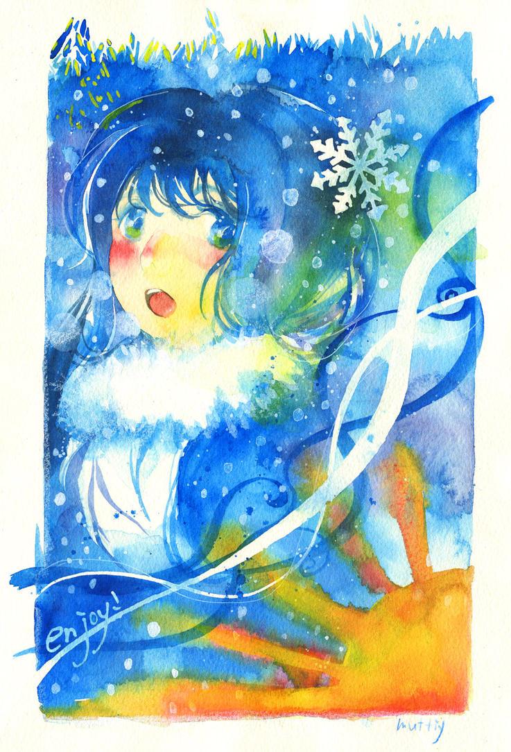 enjoy winter! by muttiy