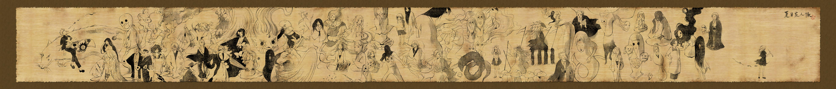 Natsume Yuujinchou: Natsume monster scroll by muttiy