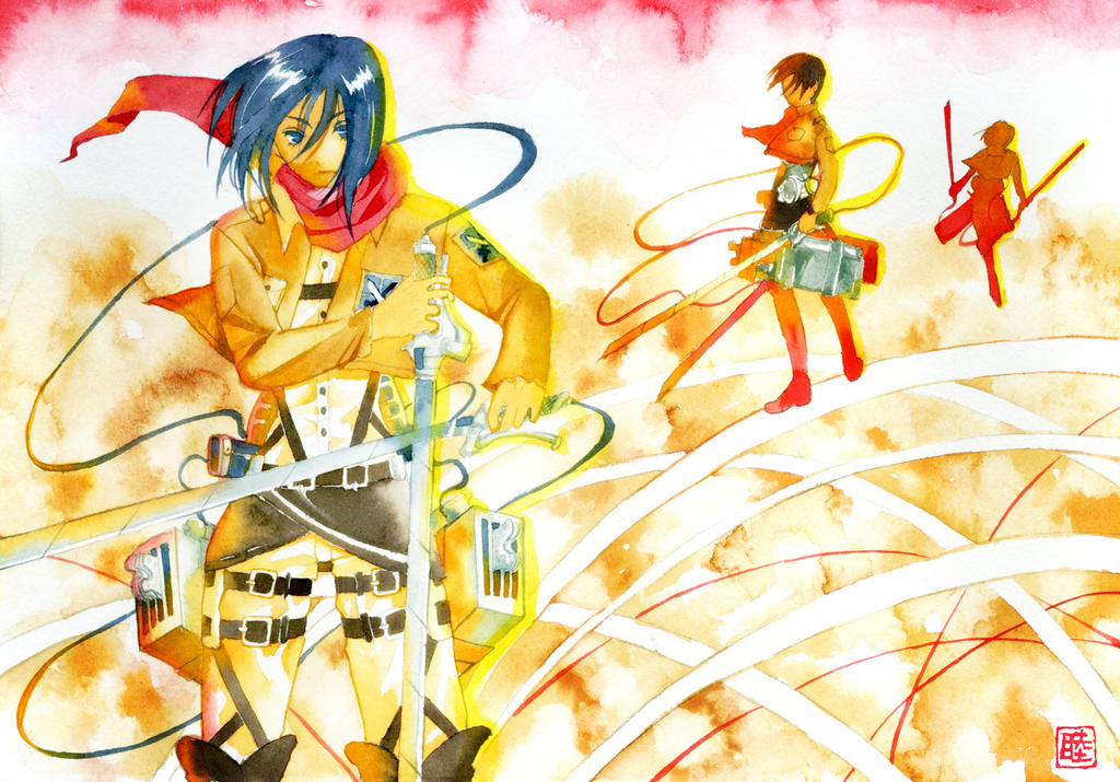 attack on titan: Shingekinokyojin by muttiy