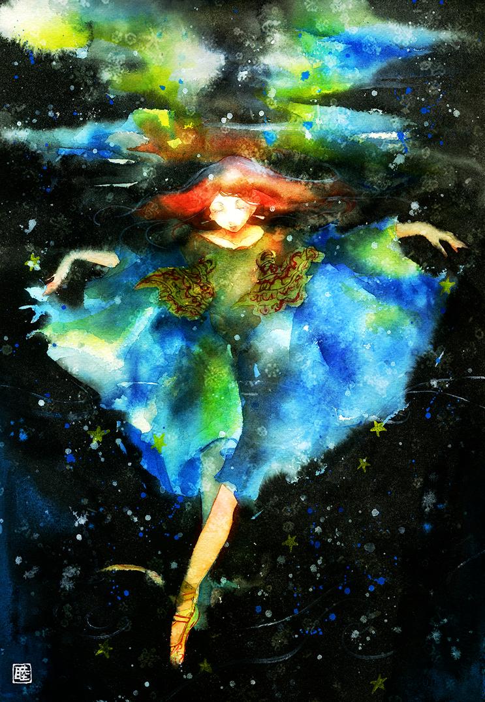 Underwater dance by muttiy