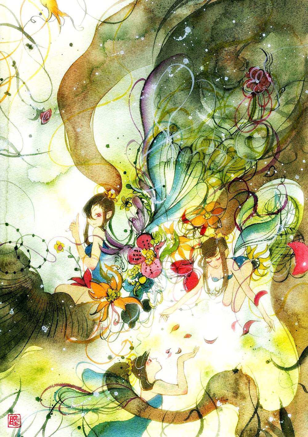 Flower Fairy by muttiy