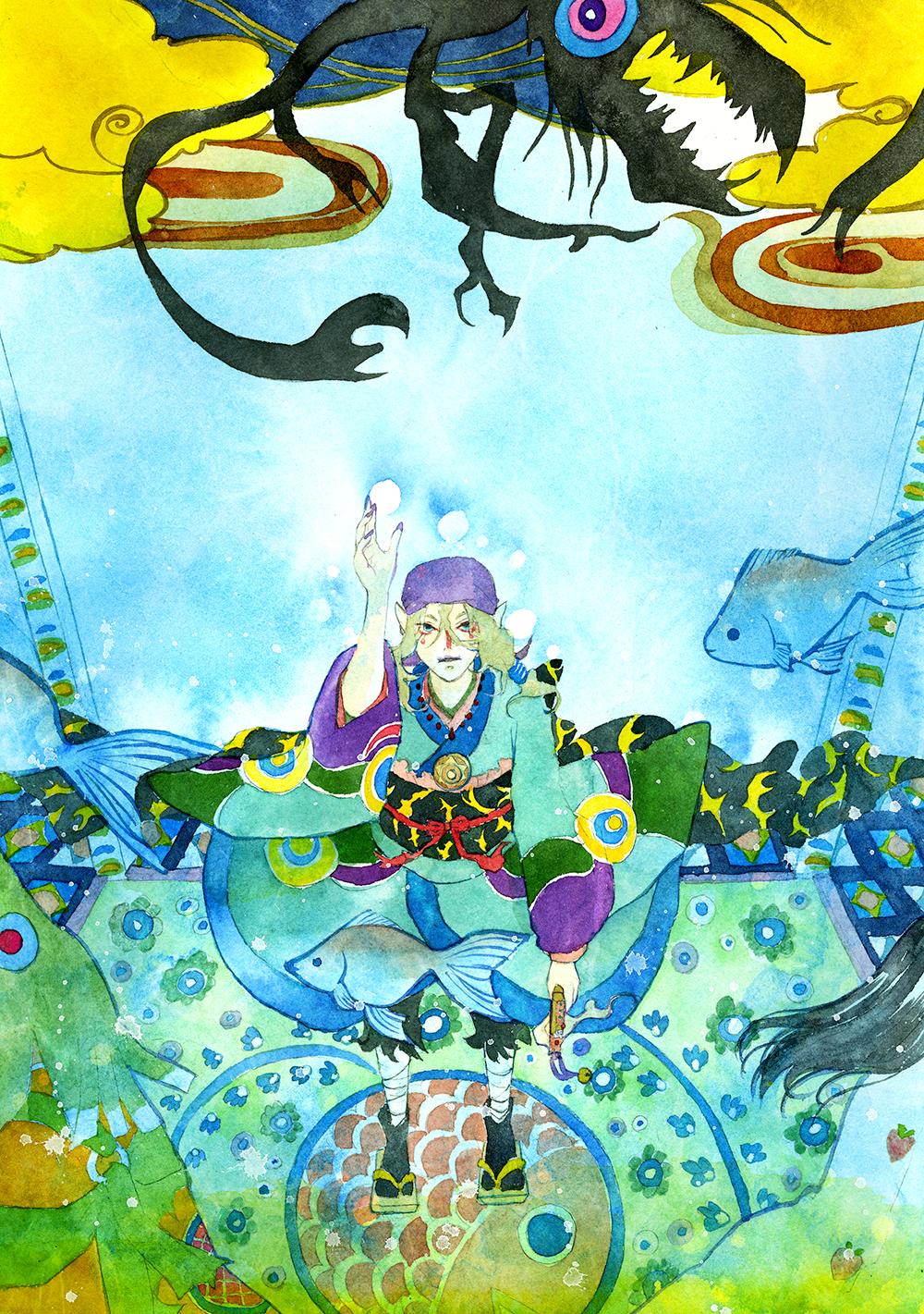 Mononoke: Kotowari of the sea by muttiy