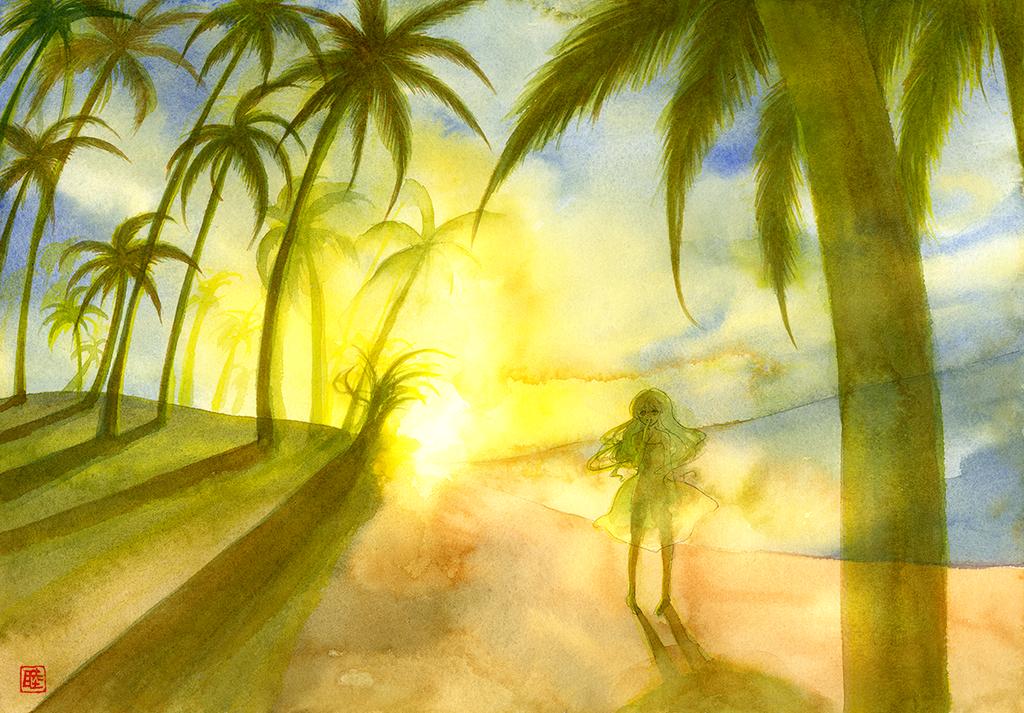 Last Sunset by muttiy