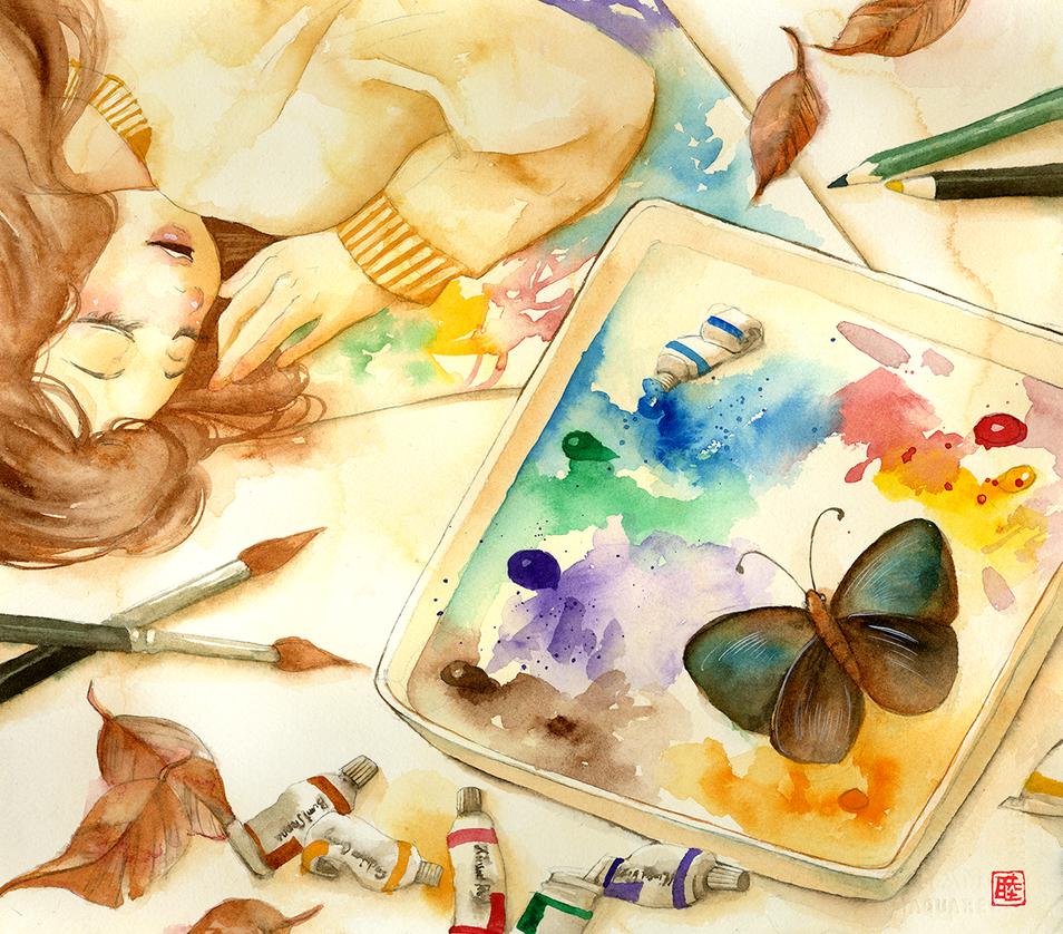 My palette by muttiy