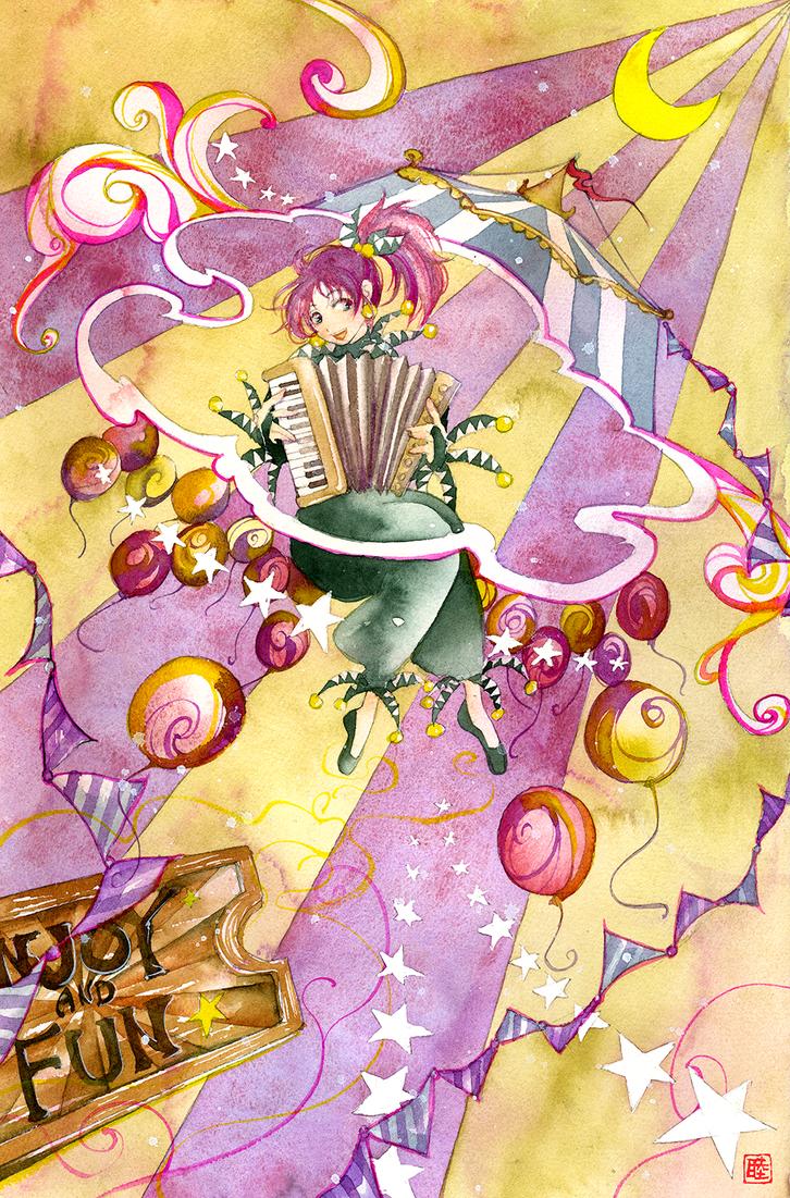 Arte Julian Clown by muttiy