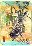Toukenranbu: World three spear
