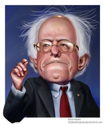 Bernie Sanders by ThatsSoMaeven