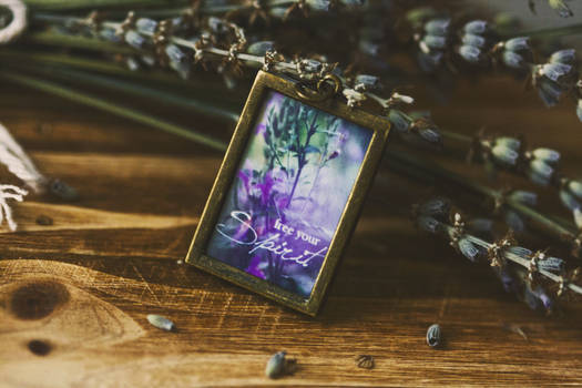 Free Your Spirit Pendant Necklace