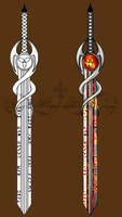 Legendary Muspelian Sword Laevateinn