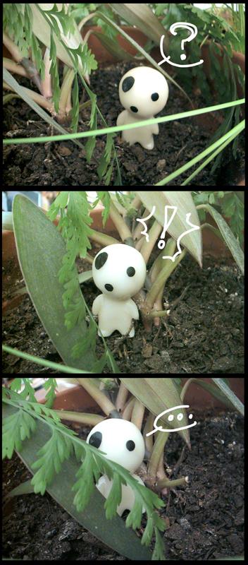 something in my flowerpot by Zinoodle