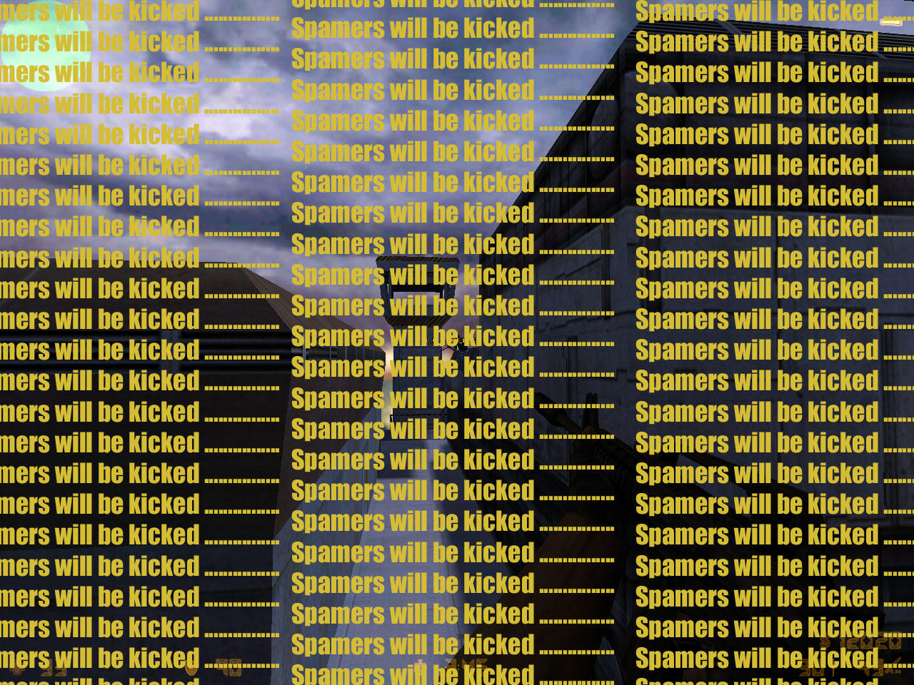 Spamers will be kicked by ender-pontius